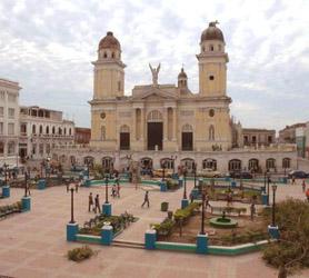 Parque Cespedes Santiago de Cuba